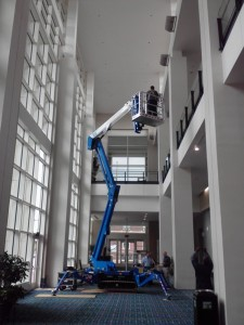 Bluelift for building maintenance