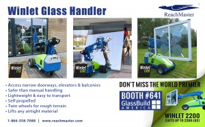 ReachMaster will be showing several models of the Winlet including the world premier of the Winlet 2200.